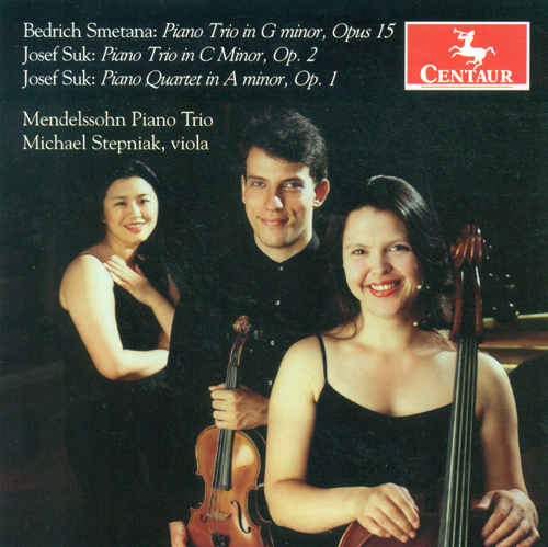 SMETANA, B.: Piano Trio, Op. 15 / SUK, J.: Piano Trio, Op. 2 / Piano Quartet, Op. 1 (Mendelssohn Piano Trio, Stepniak)