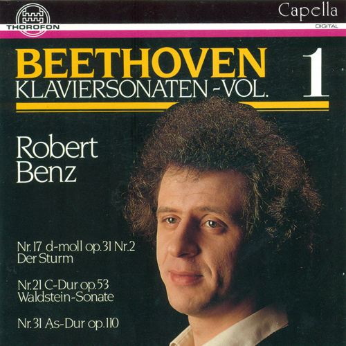 BEETHOVEN, L. van: Piano Sonatas, Vol. 1 - Nos. 17, 21, 31 (Benz)