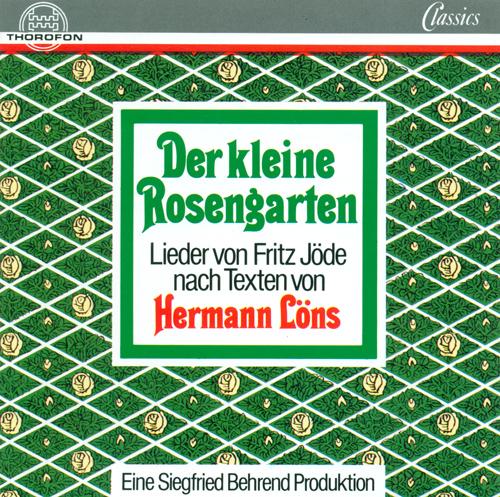 JODE, F.: Kleine Rosengarten (Der) (arr. S. Behrend) (Schortemeier, Behrend)
