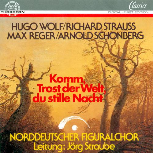WOLF, H.: 6 Geistliche Lieder / SCHOENBERG, A.: Friede auf Erden (North German Figural Choir, Straube)