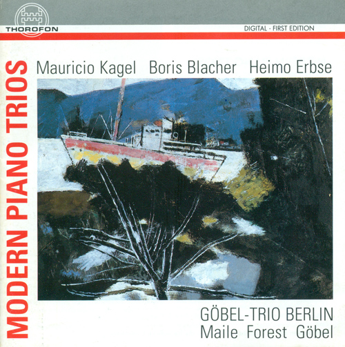 KAGEL, M.: Trio in 3 Satzen / BLACHER, B.: Piano Trio / ERBSE, H.: Piano Trio, Op. 8 (Berlin Gobel Trio)