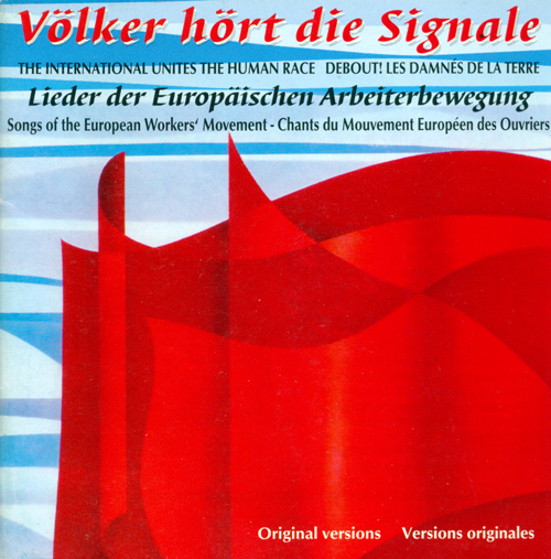 SONGS OF THE EUROPEAN WORKERS' MOVEMENT