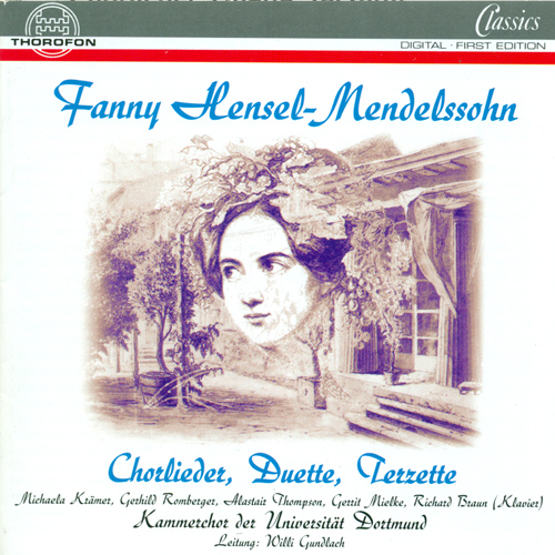MENDELSSOHN, Fanny: Vocal Music (Kramer, Romberger, Thompson, Miehlke)
