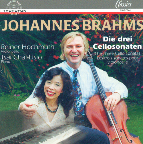 BRAHMS, J.: Cello Sonatas Nos. 1 and 2 / Violin Sonata No. 1 (Hochmuth, Tsai)