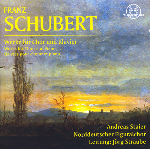 SCHUBERT, F.: Choral Music (North German Figural Choir, Straube)