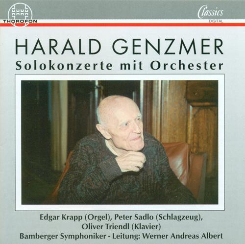 GENZMER, H.: Organ Concerto / Percussion Cocnerto / Piano Concerto (Krapp, Sadlo, Triendl)
