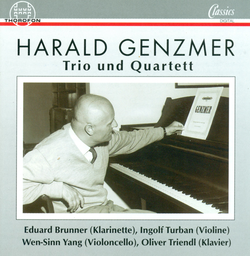 GENZMER, H.: Piano Trios Nos. 1 and 2 / Quartet for Clarinet, Violin, Cello and Piano (Triendl, Brunner, Yang, Turban)