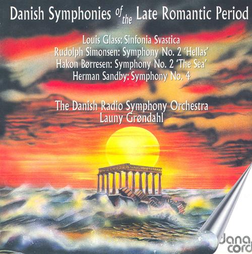 GLASS, L.: Symphony No. 5 / SIMONSEN, R.: Symphony No. 2 (Danish National Radio Symphony, Grondahl) (1954, 1956, 1957)