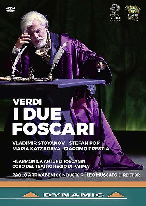 VERDI, G.: Due Foscari (I) [Opera] (Teatro Regio di Parma, 2019) (NTSC)