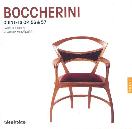 BOCCHERINI, L.: Piano Quintets, Op. 56 (Cohen, Quatuor Mosaiques)