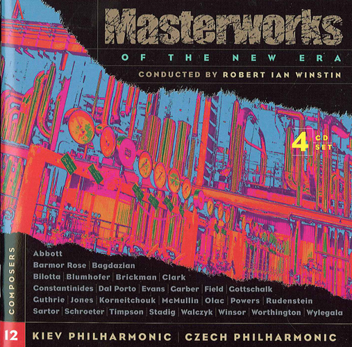 Orchestral Music (Contemporary) - WYLEGALA, Y.H. / GOTTSCHALK, A. / BLUMHOFER, J. (Masterworks of the New Era, Vol. 12) (Winstin)
