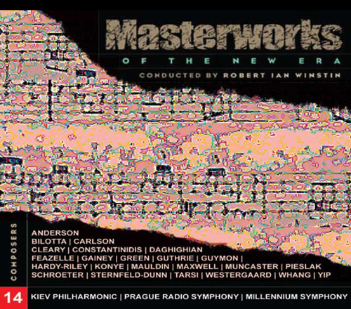 MASTERWORKS OF THE NEW ERA, Vol. 14: Anderson, Bilotta, Yip, Carlson, Cleary, and others