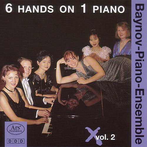 Piano Ensembles - SUPPE, F. von / STEIGER, C. / STREABBOG, L. / ALARY, J. / ALADAR, J.  (Baynov Piano Ensemble) (6 Hands on 1 Piano, Vol. 2)