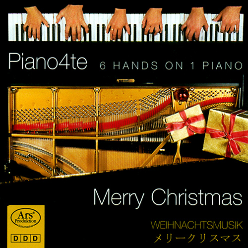 CHRISTMAS MUSIC ON 1 PIANO 6 HANDS (Piano4te)