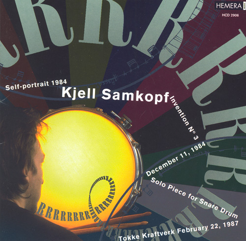 SAMKOPF, K.: Self Portrait 1984 / Invension No. 3 / Solo Piece / 11. desember 1984 / Tokke kraftverk 22. februar 1987