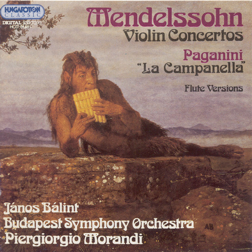MENDELSSOHN / PAGANINI: Violin Concertos arranged for Flute