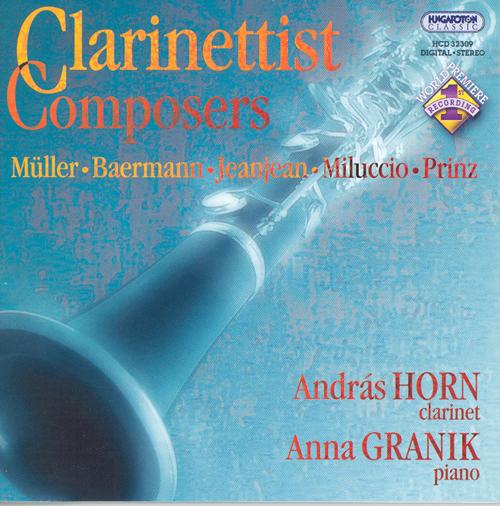 BAERMANN: Souvenirs de Bellini / MULLER: 3 Fantasias / PRINZ: Clarinet Sonata
