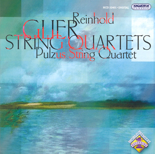 GLIERE: String Quartets Nos. 1 and 2