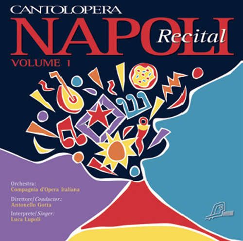 Vocal Music (Italian) - D'ESPOSITO, S. / CAPUA, E. di / DONIZETTI, G. (Napoli Recital, Vol. 1) (complete versions and orchestral backing tracks)