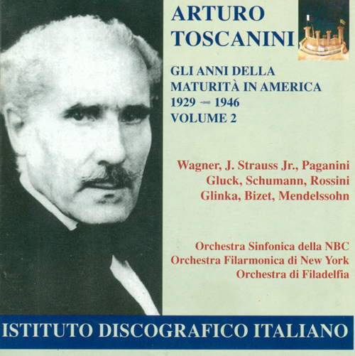 Orchestral Music - WAGNER, R. / STRAUSS II / PAGANINI, N. / GLUCK, C.W. (The Years of Maturity in the United States, Vol. 2) (Toscanini) (1929-1946)