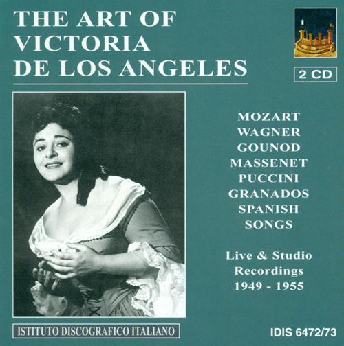 Vocal Recital: Angeles, Victoria de los - MOZART, W.A. / WAGNER, R. / GOUNOD, C.-F. / MASSENET, J. / GRANADOS, E. / FUSTE, E. / TURINA, J. (1949-1955)