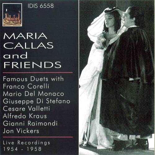 Opera Arias: Callas, Maria - SPONTINI, G. / BELLINI, V. / VERDI, G. / DONIZETTI, G. / CHERUBINI, L. (Maria Callas and Friends) (1954-1958)