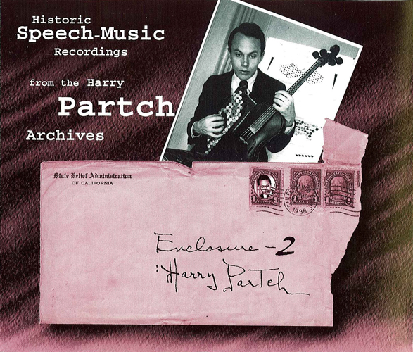 PARTCH, H.: Historic Speech Music Recordings (Partch)