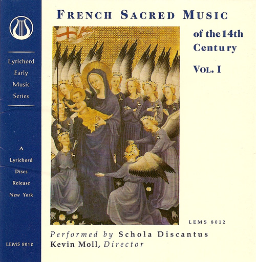 FRENCH SACRED MUSIC OF THE 14TH CENTURY, Vol. 1 (Schola Discantus, Moll)