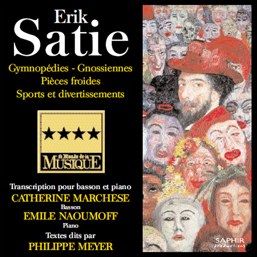 SATIE: 3 Gymnopedies / 6 Gnossiennes / Sports et Divertissements