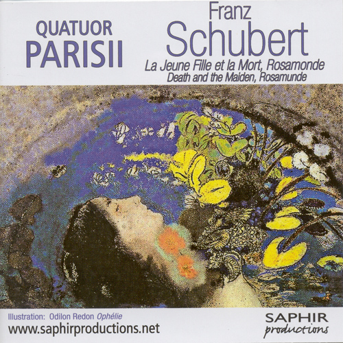 "SCHUBERT, F.: String Quartets Nos. 13 and 14, ""Death and the Maiden"" (Parisii Quartet)"