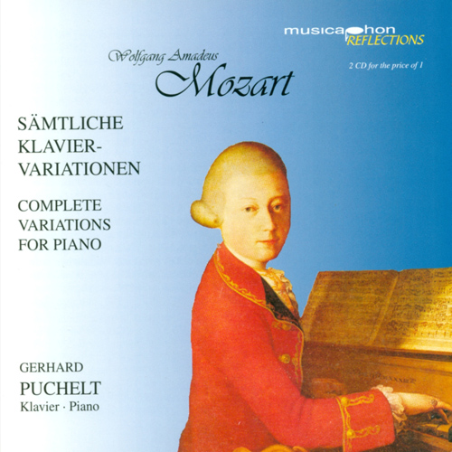 MOZART, W.A.: Variations for Piano (Complete) (Puchelt)