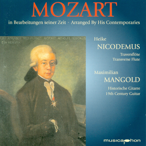 Flute and Guitar Recital: Nicodemus, Heike / Mangold, Maximilian - MOZART, W.A. / CARULLI, F. / SOR, F. (Mozart Arranged by his Contemporaries)