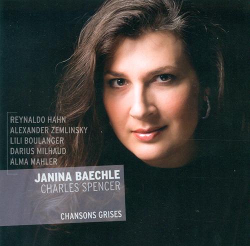Vocal Recital: Baechle, Janina - HAHN, R. / ZEMLINSKY, A. von / BOULANGER, L. / MILHAUD, D. / MAHLER, A.M.