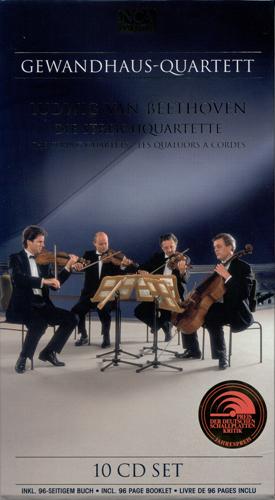 BEETHOVEN, L. van: String Quartets (Gewandhaus Quartet)