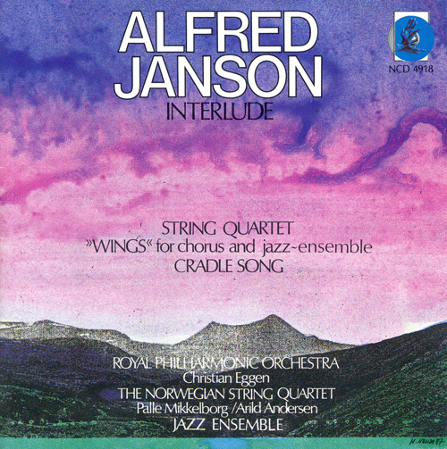 JANSON, A.: Interlude / String Quartet / Wings / Cradle Song