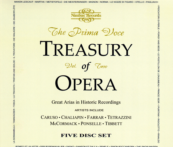 Opera Highlights (Prima Voce Treasury of Opera, Vol. 2)