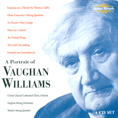 VAUGHAN WILLIAMS, R.: Orchestral, Choral and Chamber Music (Christ Church Cathedral Choir, English String Orchestra, Medici String Quartet)