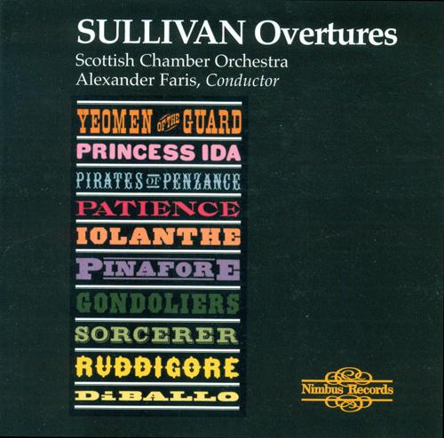 SULLIVAN, A.: Overtures (Scottish Chamber Orchestra, Faris)