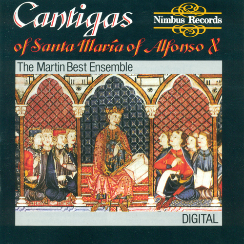 ALFONSO X: Cantigas of Santa Maria (Martin Best Ensemble)