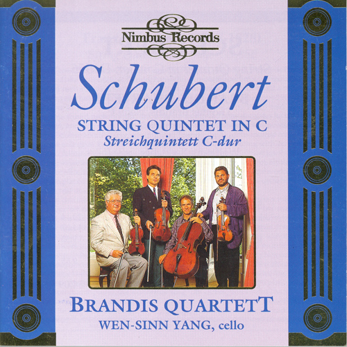 SCHUBERT, F.: String Quintet, Op. 163 (Brandis Quartett, Yang)