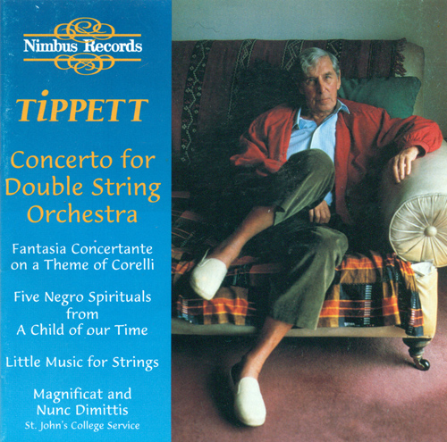 TIPPETT, M.: Concerto for Double String Orchestra / 5 Negro Spirituals / Little Music / Magnificat and Nunc Dimittis (Boughton, Darlington, Guest)