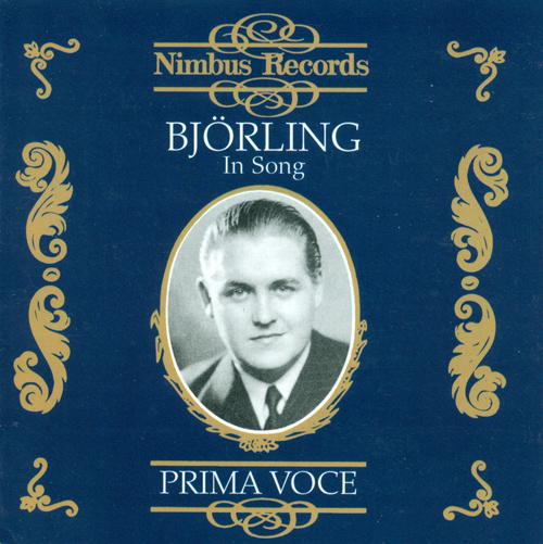 Vocal Recital: Bjorling, Jussi - ENDERS, G. / CHRISTGAU, M. / LEONCAVALLO, R. / ELGAR, E. / CURTIS, E. de / CARUSO, E. / CAPUA, E. di (1930-1937)
