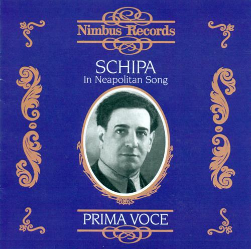 Vocal Recital: Schipa, Tito - BUZZI-PECCIA, A. / FALVO, R. / TAGLIAFERRI, E. / BARTHELEMY, R. / CAPUA, E. di (Neapolitan Song) (1925-1938)