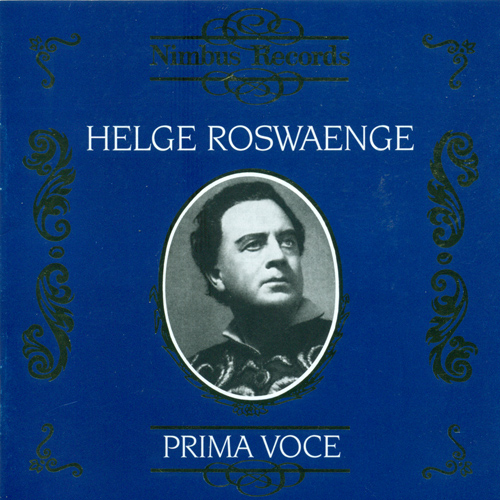 Opera Arias (Tenor): Roswaenge, Helge - BEETHOVEN, L. van / WEBER, C.M. von / ADAM, A. / MASSENET, J. / BIZET, G. / GLINKA, M.I. (1932-1942)
