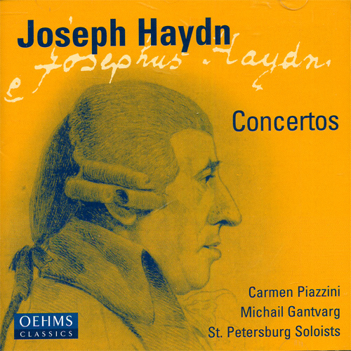 HAYDN: Violin Concerto in G major / Piano Concerto in D major / Concerto for Violin and Piano