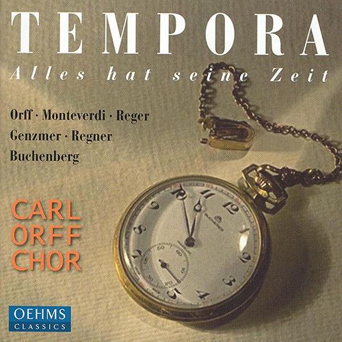 ORFF / GENZMER / REGER / BUCHENBERG / REGNER: Choral Works