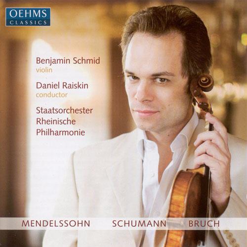 MENDELSSOHN, Felix: Violin Concerto, Op. 64 / SCHUMANN, R.: Phantasie / BRUCH, M.: Violin Concerto No. 1
