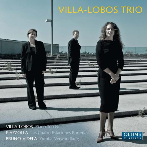 VILLA-LOBOS, H.: Piano Trio No. 1 / PIAZZOLLA, A.: Las 4 estaciones portenas / BRUNO-VIDELA, L.: Yumba-Verwandlung