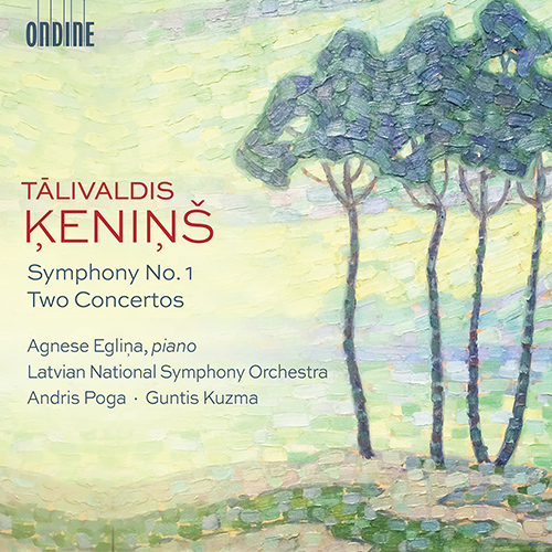 ĶENIŅŠ, T.: Symphony No. 1 / Concerto di camera No. 1 / Piano Concerto