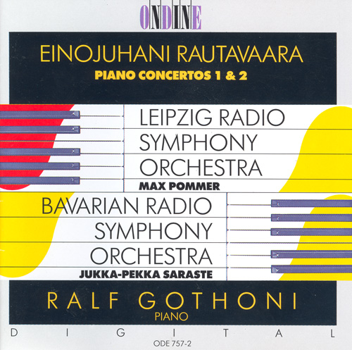 RAUTAVAARA, E.: Piano Concertos Nos. 1 and 2 (Gothoni)